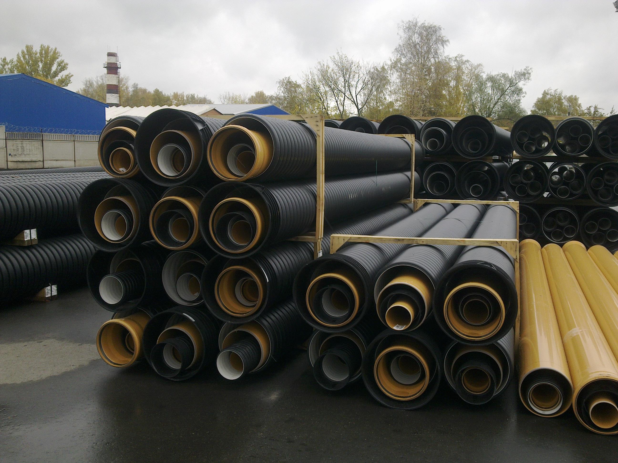 Гофрированные канализационные трубы X-Stream