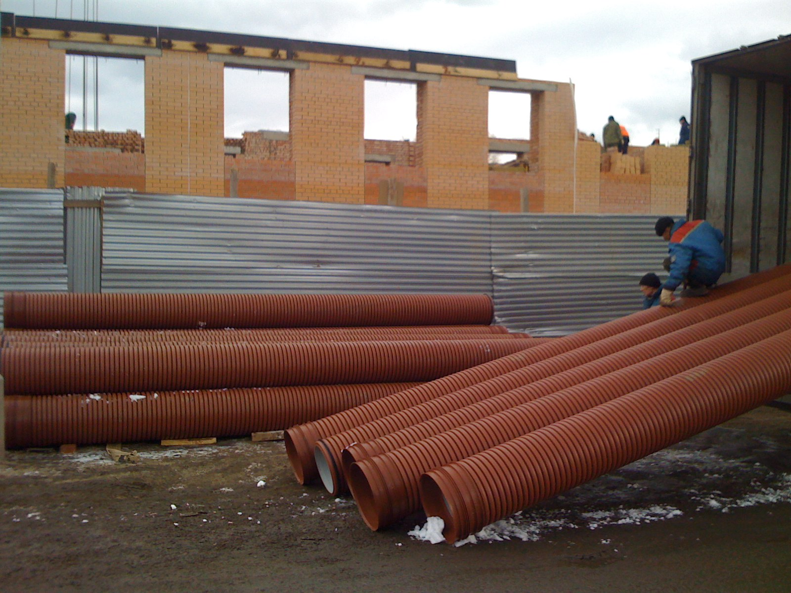 Ливневая канализация для водоотведения