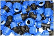 Компрессионные фитинги для пластиковых труб